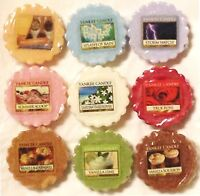 (R-Z) Yankee Candle TARTS WAX MELTS Potpourri Tart VARIETY (R - Z SCENT CHOICES)