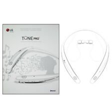Latest LG Tone Pro HBS770 Bluetooth Wireless Neckband headphones Headset White