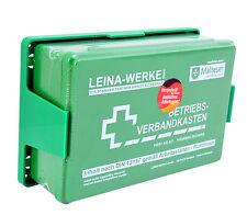 Betriebs Verbandkasten Erste Hilfe Koffer DIN13157 Grün mit Halterung