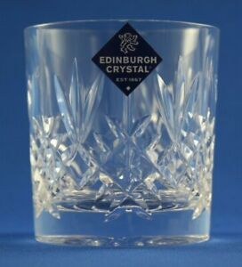 "EDINBURGH CRYSTAL - LOMOND - 6oz  WHISKY TUMBLER GLASS  7.6cm / 3""  UNUSED NEW"