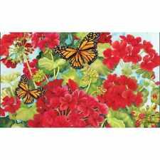 Studio M MatMate Doormat, Red Geraniums