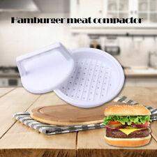 HOT Plastic Hamburger Meat Compactor Press Mold Grill Burger Maker Kitchen Tools