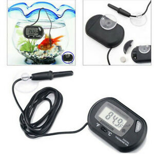 LCD Digital Thermometer Reptile Meter Fish Tank Water Fridge Freezer Aquarium