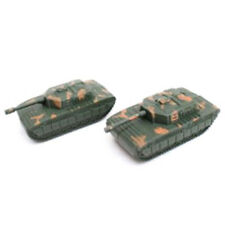 2pcs Sand Table Plastic Tiger Tanks Toy World War II Germany Military ModelVE