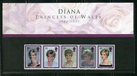 GREAT BRITAIN  PRINCESS DIANA MEMORIAL  STAMPS PRESENTATION PACK AS ISSUED