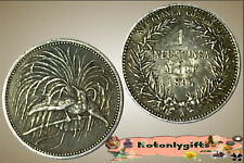 German New Guinea :- 1 Mark 1894 .... Tone VF