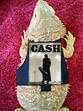 Lil' Bestie Bearded Dragon reptile Harness and Leash JOHNNY CASH