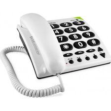 Doro PhoneEasy 311c, Schnurgebundenes Großtastentelefon weiß