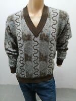 Maglione LANCETTI Uomo taglia size  50 sweater man pull homme maglia uomo 6111