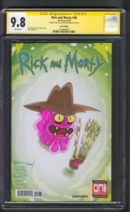Rick and Morty 40 Portal Variant CGC SS 9.8 Freedy Kruger Original art sketch 18