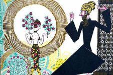 Anne Fish 1922 PERSIAN IRANIAN DANCER MAGICIAN MAGIC Art Deco Print Lithograph