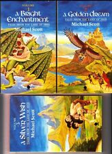 Tales from the Land of Erin: Books 1-3 by Michael Scott (1985 Paperbacks x 3)