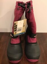 NEW Kamik Kids Snoday Insulated Winter Waterproof Snowboot Berry Youth Size 5M