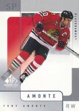 2000-01 SP Game Used Hockey #11 Tony Amonte Chicago Blackhawks