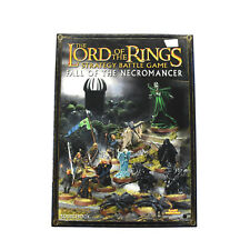 LOTR Fall of the necromancer Rulebook Strategy sourcebook Games workshop Book