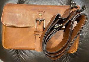 ONA Bowery Leather Camera Shoulder Bag Antique Cognac + strap - DSLR/Mirrorless