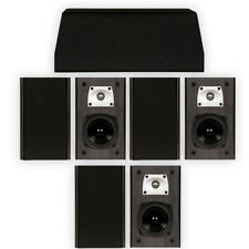 Theater Solutions B1 and C1 Bookshelf Surround Sound Home Theater 7 Speaker Set
