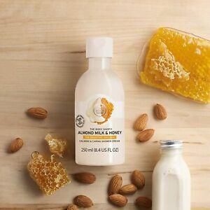 THE BODY SHOP Almond Milk & Honey Soothing Shower Cream 250ml – SENSITIVE SKIN