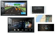 Sony xav-v631bt + xa-nv400 système de navigation 2din Autoradio Bluetooth LCD mp3