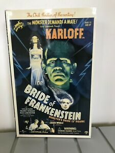 "UNIVERSAL SIDESHOW MONSTERS ""BRIDE OF FRANKENSTEIN"" 12"" FIGURE, NEW IN BOX"