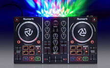 Dj Mixer Lights Controller Equipment Set Control Numark Setup Mix Board Mixers