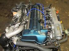 JDM Toyota Aristo Twin Turbo VVTi Front Sump 2JZ GTE Engine Motor Auto Trans ECU
