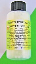 Joint Mobility Homeopathy Remedy Animals 1400 Pillules Stiff Joints
