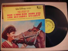 Disneyland Records Story of THE LITTLEST OUTLAW LP 1963