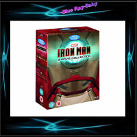 IRON MAN - COMPLETE COLLECTION 1 2 & 3  *** BRAND NEW BLURAY BOXSET**