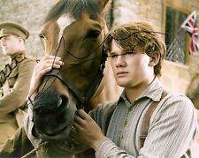 JEREMY IRVINE AUTHENTIC SIGNED WAR HORSE PHOTO AFTAL & UACC IN PERSON