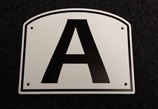 Dressage Arena Markers / Letters x 8 - top quality and value!