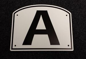 Dressage Arena Markers / Letters x 8 - The Original and Best!