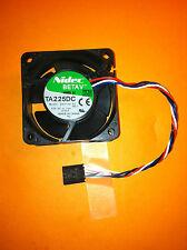 Nidec TA225DC B35198-35 6025 12V 0.14A PWM control 4 line chassis fan