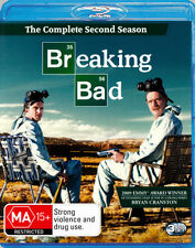 Breaking Bad - Season 2 (Blu-ray, 3 Disc Set) NEW & SEALED Series