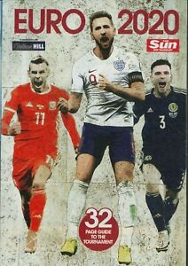 EURO 2020 Chart & 32 PAGE GUIDE TO THE FOOTBALL TOURNAMENT - THE SUN 6.6.21