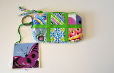 Vera Bradley Sateen Patchwork Zip Coin Purse Case Limited Edition NWT Retired