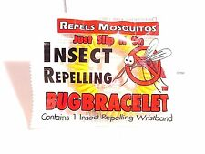 Anti Mosquito Bug Bracelet Pest Repel 200 Hrs Wrist Band Insect Repellent #621
