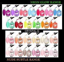 Crystal - G UV LED Soak off Neon Nail GEL Polish 8 Ml C10 Bright Acid Yellow