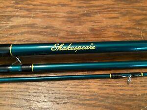 Shakespeare 8' Fly Fishing Rod Model SKP8056-3 Fiberglass #5/6 Line 3 Piece