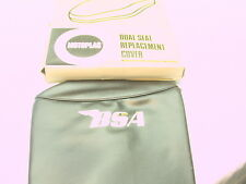 NEW NOS BSA A65 A50 SEAT COVER MOTOPLAS PART # 8-9262 1967 TO 1970 NEW OLD STOCK