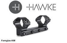 HAWKE 22111 30 mm Ringmontage Hoch für 9-11mm Schiene Zielfernrohr-Halterung