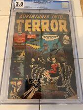 Adventures into Terror Issue #17 Atlas Comics 3/53 CGC 3.0