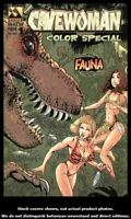 Cavewoman Color Special 1 Avatar 1999 VF 1st Appearance Fauna Jungle Girl