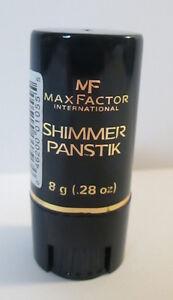 Max Factor Shimmer Panstik Pan Stick .28 oz For Face & Body Highlighter  #002