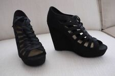 New Look Suede Lace-up Heels for Women