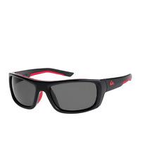 Lunettes soleil QUIKSILVER sunglasses noires rougesKNOCKOUT EQYEY03072-XKRS