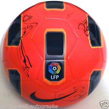 MANCHESTER UNITED MAN U 2015 TEAM SIGNED NIKE SOCCER BALL W/ROONEY! PROOF+C.O.A