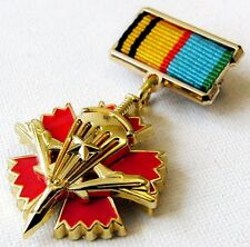 Russian Medal For Service in Military Intelligence of Airborne Troops + Doc