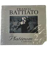 """Franco Battiato """"The Platinum Collection 2"""" EMI 3CD Nuovo mai Aperto Sig"""