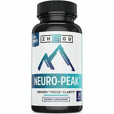 Natural Brain Function Support for Memory, Focus & Clarity - Mental Performance